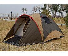 Палатка четырехместная (130+220)х240х180 см Tuohai/Traveltop ART-1903 12001