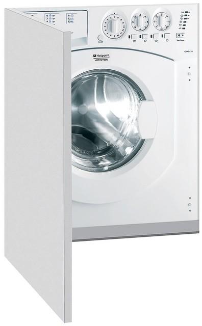 Встраиваемая стиральная машина бесшумная с сушкой Hotpoint-Ariston CAWD 129 (EU). Алматы