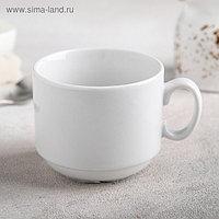 Чашка чайная «Экспресс», 220 мл, цвет белый