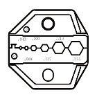 Pro`skit CP-336DG Насадка для обжима CP-371 (RG58,59,62,174, Optic), фото 2
