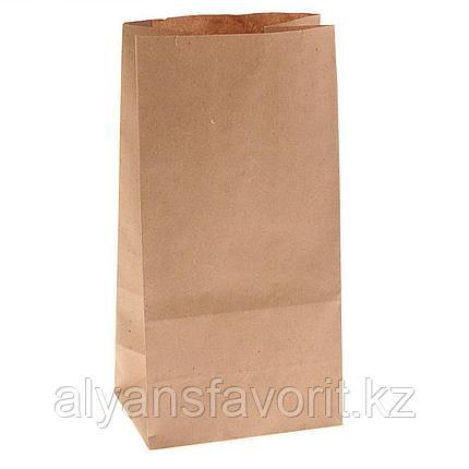 Пакет крафт С (220+120)*290 мм без ручек, 50 г./м2.РФ, фото 2