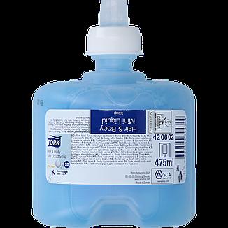 Tork Premium жидкое мыло мини для тела и волос 420602, фото 2