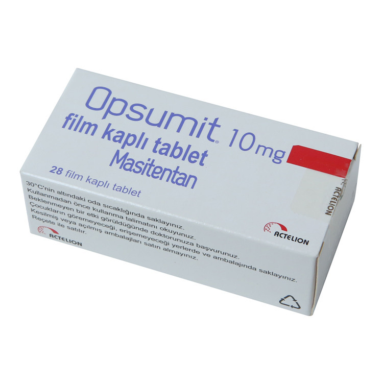 Опсамит (Opsumit ) Мацитентан (Macitentanum) 10мг