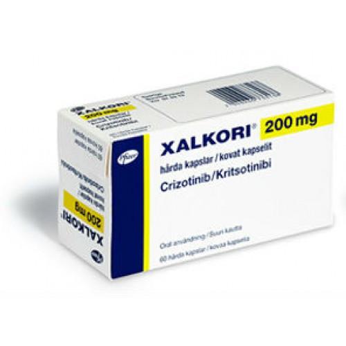 Ксалкори ( Xalkori ) 200мг , 250мг кризотиниб Пфайзер Италия-США