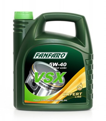Моторное масло FANFARO VSX 5W-40 4L