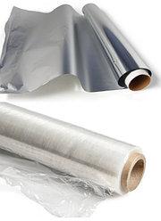 Стрейч-пленка,фольга и бумага для выпечки