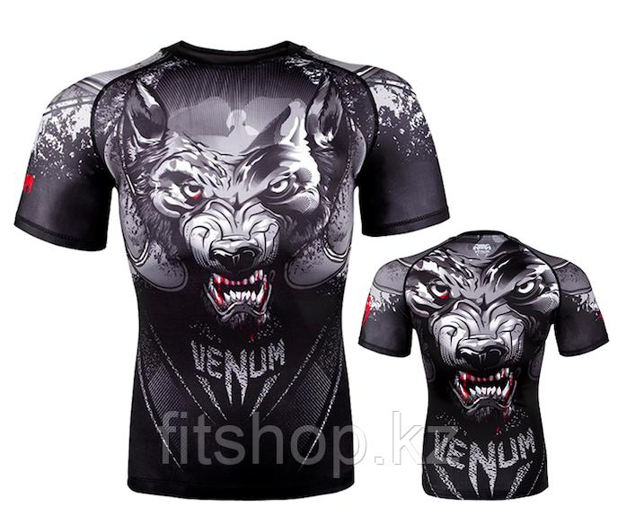 Рашгард Venum  Werewolf Black/Grey (Только Верх)