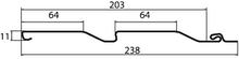 Сайдинг Корабельный брус D4 Grand Line