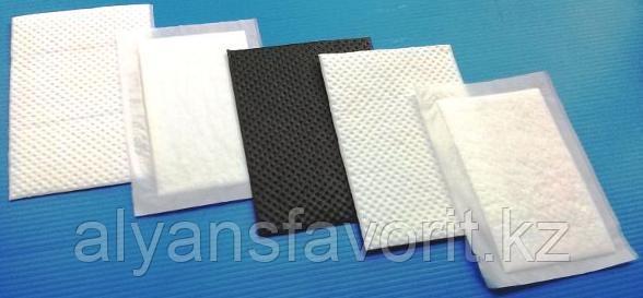 Влаговпитывающие салфетки (вкладыши) 80*120 мм. РФ