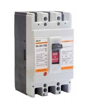 Выключатель автоматический ВА 301 3P  16А 25кА С DEKraft, фото 2
