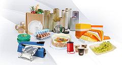 Одноразовая упаковка (посуда, коробки, фольга, пленка и пакеты).