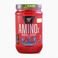 BSN, AminoX, формула с аминокислотами с разветвленной цепью, без кофеина, 15.3 унц/ (435 г)