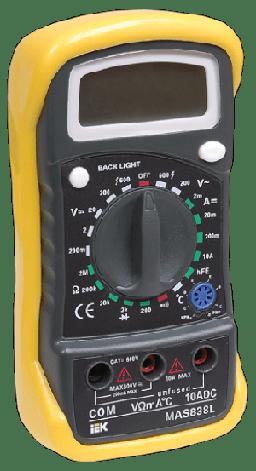 Мультиметр цифровой Master MAS838L IEK (40), фото 2