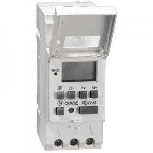 Таймер ТЭ15 цифровой 16А 230В на DIN-рейку IEK (100), фото 2