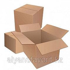 Коробка 4-х клапанная размер 630*320*340 мм крафт.