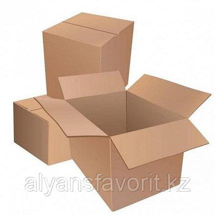 Коробка 4-х клапанная размер 630*320*340 мм крафт., фото 2