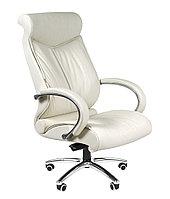 Кресло офисное для руководителя CHAIRMAN 420, натуральная кожа
