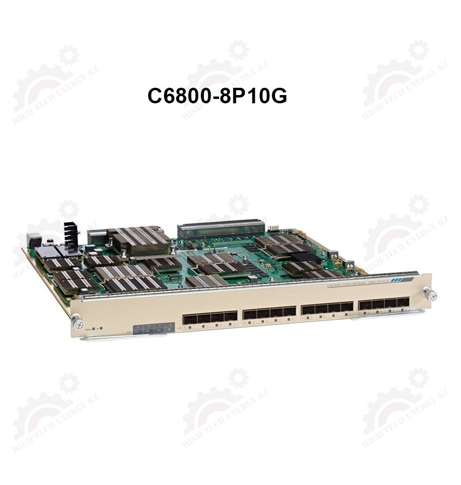 Catalyst 6800 8 port 10GE with integrated DFC4