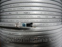 SRL 40-2CR, Саморегулирующийся нагревательный, греющий кабель (в оплетке), 40 Вт.