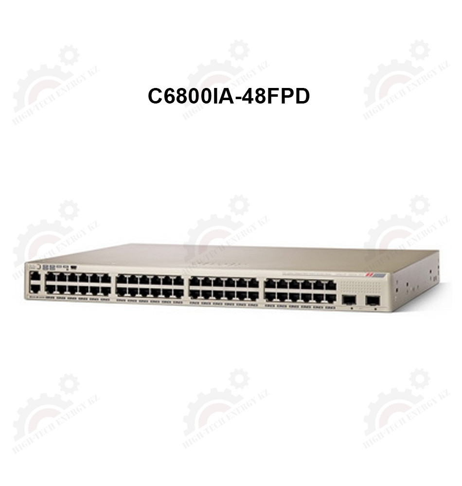 Catalyst 6800 Instant Access POE+ Switch