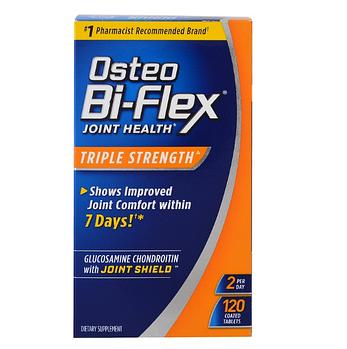 Osteo Bi-Flex, Glucosamine Chondroitin with 5-Loxin Advanced Joint Care, Утроенная сила, 120 каплетов