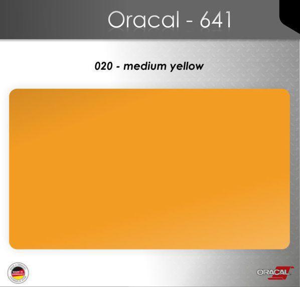 Пленка Оракал 641/золотисто-желтый (020)