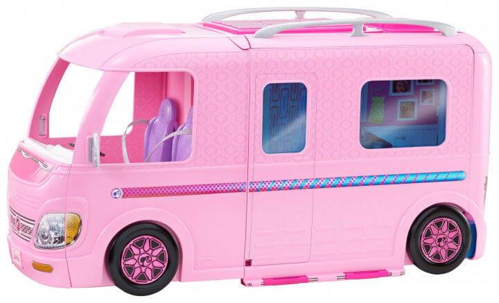 Волшебный раскладной фургон для Barbie