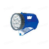 Фонарь аккумуляторный синий KLAUS KE47402