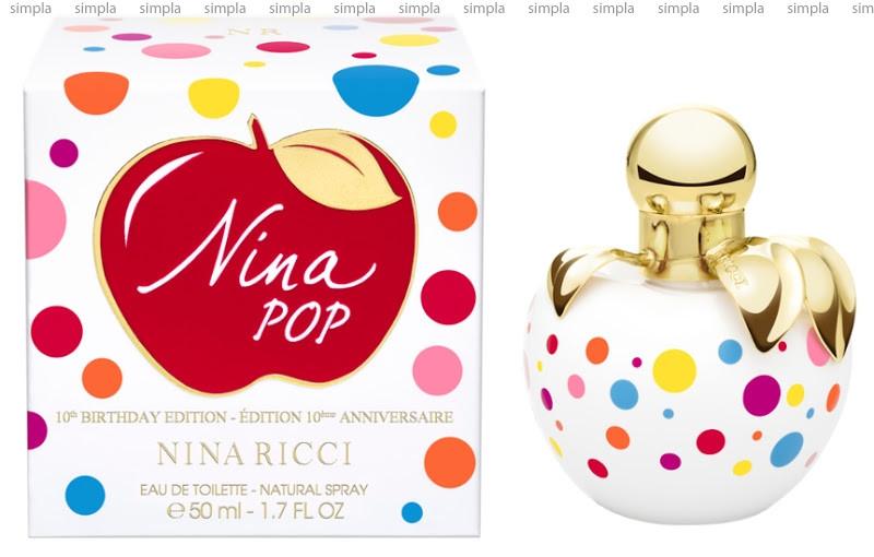 Nina Ricci Nina Pop туалетная вода объем 80 мл Тестер (ОРИГИНАЛ)
