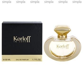 Korloff In Love парфюмированная вода объем 1,5 мл (ОРИГИНАЛ)