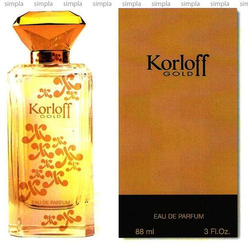 Korloff Gold парфюмированная вода объем 88 мл тестер (ОРИГИНАЛ)