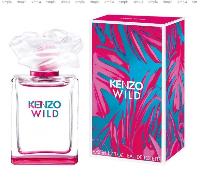 Kenzo Wild туалетная вода объем 50 мл Тестер (ОРИГИНАЛ)