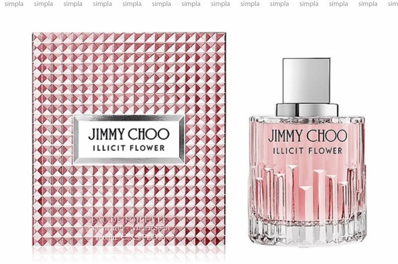 Jimmy Choo Illicit Flower туалетная вода объем 100 мл (ОРИГИНАЛ)