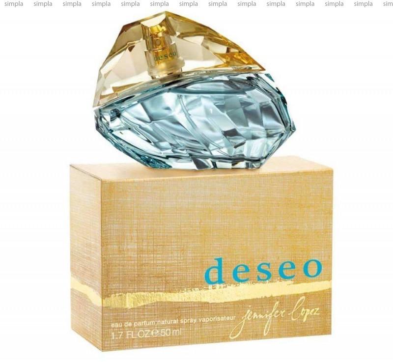 Jennifer Lopez Deseo парфюмированная вода объем 50 мл (ОРИГИНАЛ)