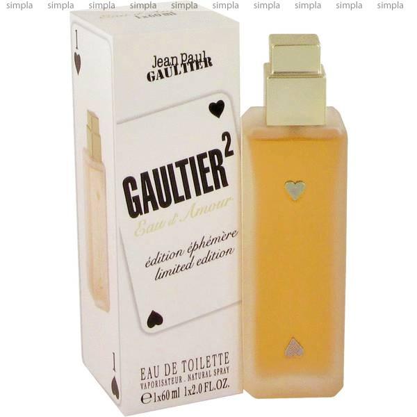 Jean Paul Gaultier Gaultier 2 Eau d Amour туалетная вода объем 60 мл тестер (ОРИГИНАЛ)