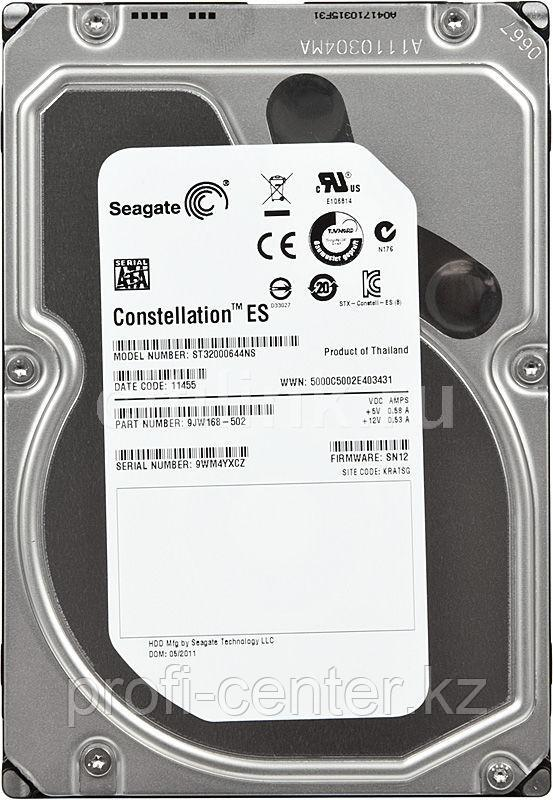Жесткий диск HDD 2TB seagate Constellation