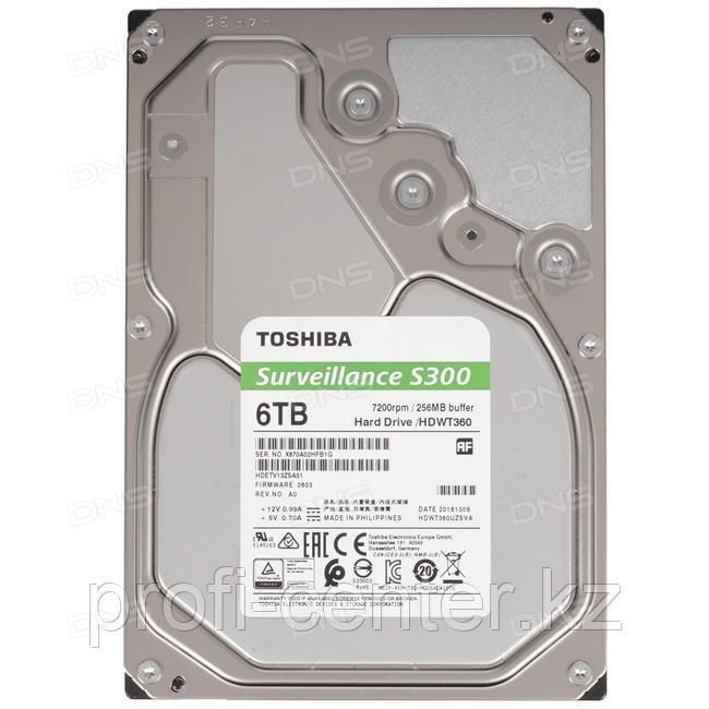 Жесткий диск 6 TB TOSHIBA Surveillance
