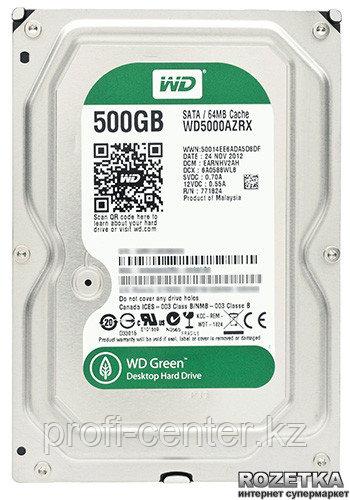 Жесткий диск HDD 500GB WD Green
