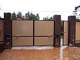 Распашные ворота, фото 4