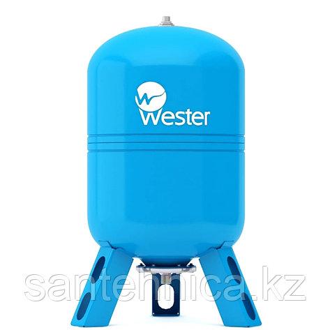 Гидроаккумулятор Wester 150 л. вертикальный, фото 2