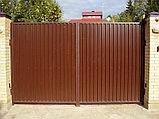 Распашные ворота, фото 5