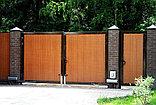 Распашные ворота, фото 3