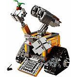 Конструктор Lepin16003 Ideas ВАЛЛ-И  (Аналог LEGO Ideas Wall-E 21303 ) количество деталей: 687 шт., фото 2