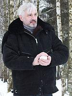 Куртка меховая летная нагольная с капюшоном
