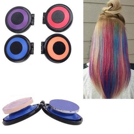 Набор для мгновенной временной окраски волос Hot Huez, фото 2