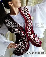 Жилетки с казахским орнаментом