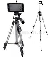 Штатив тренога для телефона и камер, 5 уровней высоты, Bluetooth DK 3888