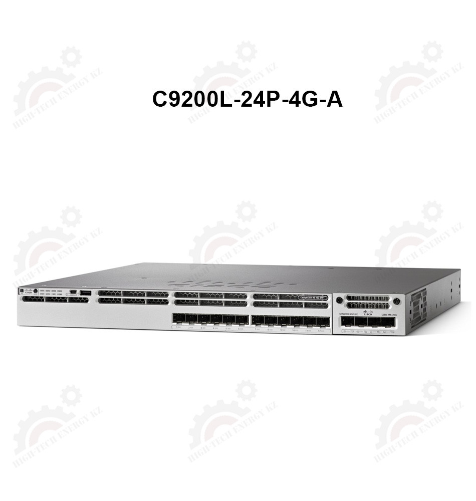 Catalyst 9200L 24-port PoE+, 4 x 1G, Network Advantage