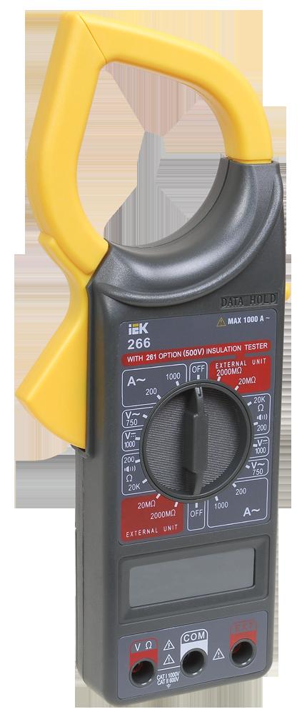 Токоизмерительные клещи Expert 266С IEK