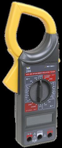 Токоизмерительные клещи Expert 266С IEK, фото 2